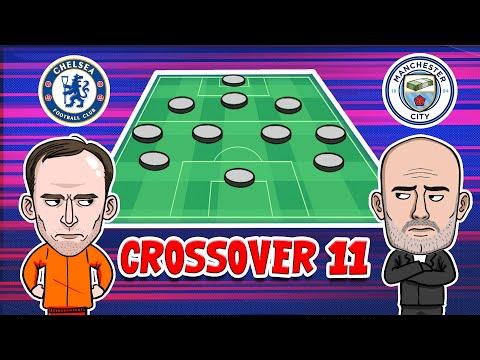 Man City vs Chelsea Crossover 11 ❌ Champion League Final ⚽ 442oons Parody