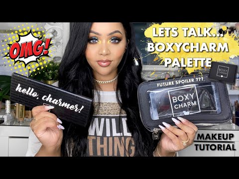 EXCLUSIVE BOXYCHARM PALETTE - POSSIBLE SPOILER?! - MAKEUP TUTORIAL & REVIEW