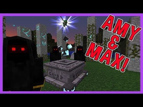 Amy & Max! Ep.40 THE ANCIENT DRUIDS!   Minecraft   Amy Lee33