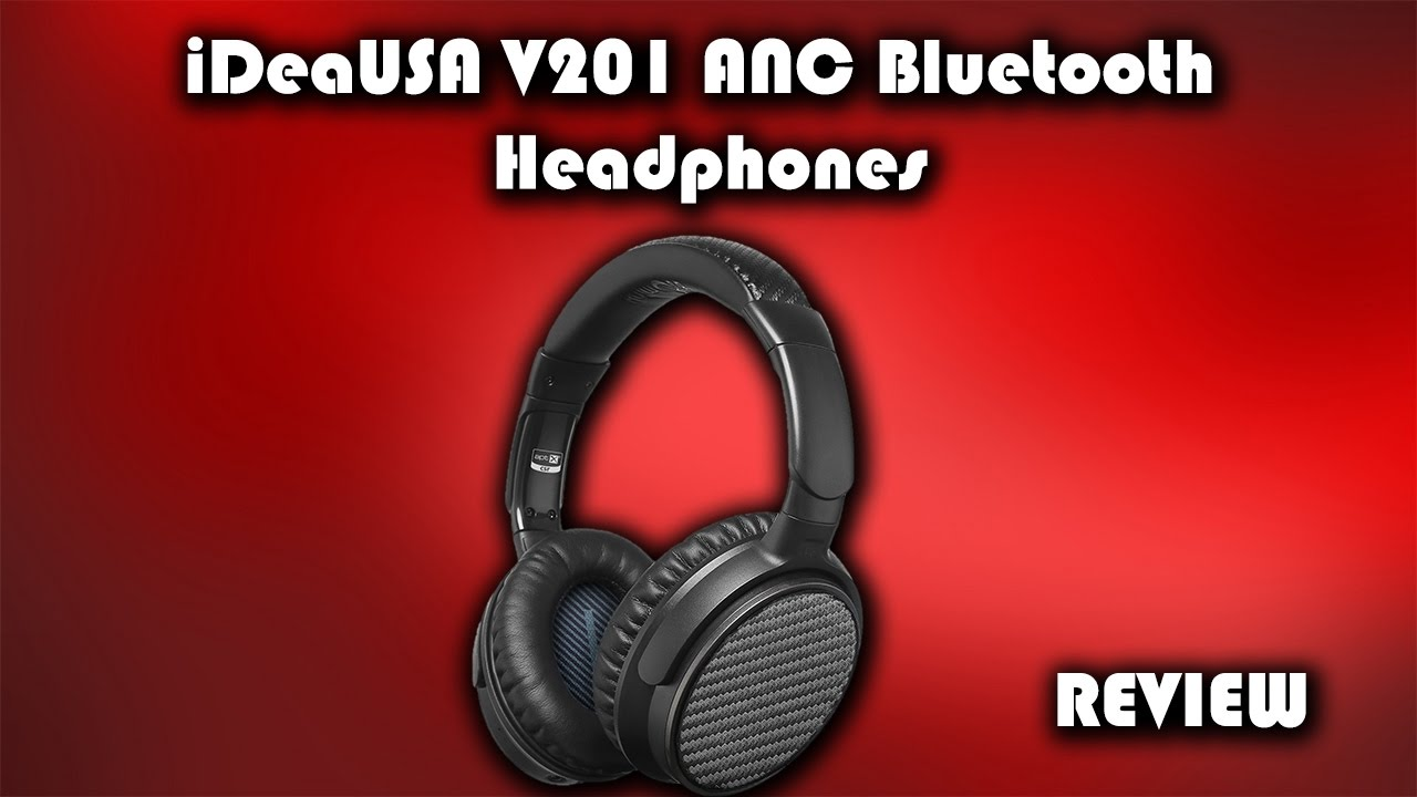 7596f812812 iDeaUSA V201 Active Noise Cancelling Headphones Review - YouTube