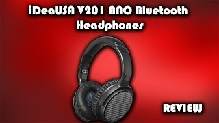 iDeaUSA V201 Active Noise Cancelling Headphones Review