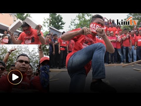 Red Shirts protest Malaysiakini, full coverage