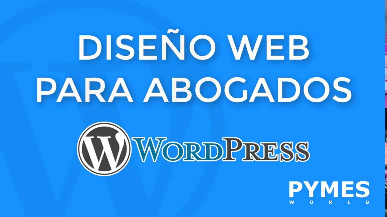Dise O Web Para Abogados Mejores Temas Wordpress Para