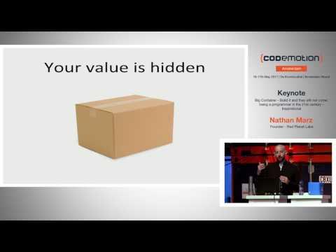Being a programmer in 21st century - Nathan Marz - Codemotion Amsterdam 2017