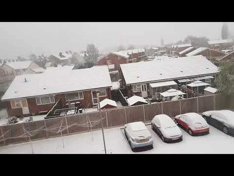 Snow in crewe