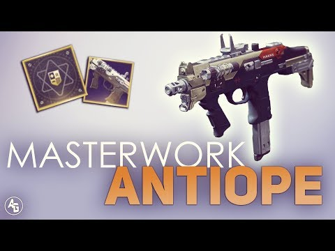 Antiope + Masterwork = OP | Destiny 2: Shepard's Watch & Antiope Masterwork Gameplay
