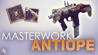 Antiope + Masterwork = OP   Destiny 2: Shepard's Watch & Antiope Masterwork Gameplay