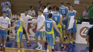 Останні хвилини матчу Швеція U20  -  Україна U20 |  Євробаскет 2017