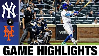Yankees vs. Mets Game Highlights (9/12/21)   MLB Highlights