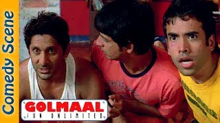 Arshad Warsi Comedy Scene - Most Viewed Scene - Golmaal Fun Unlimited -  IndianComedy