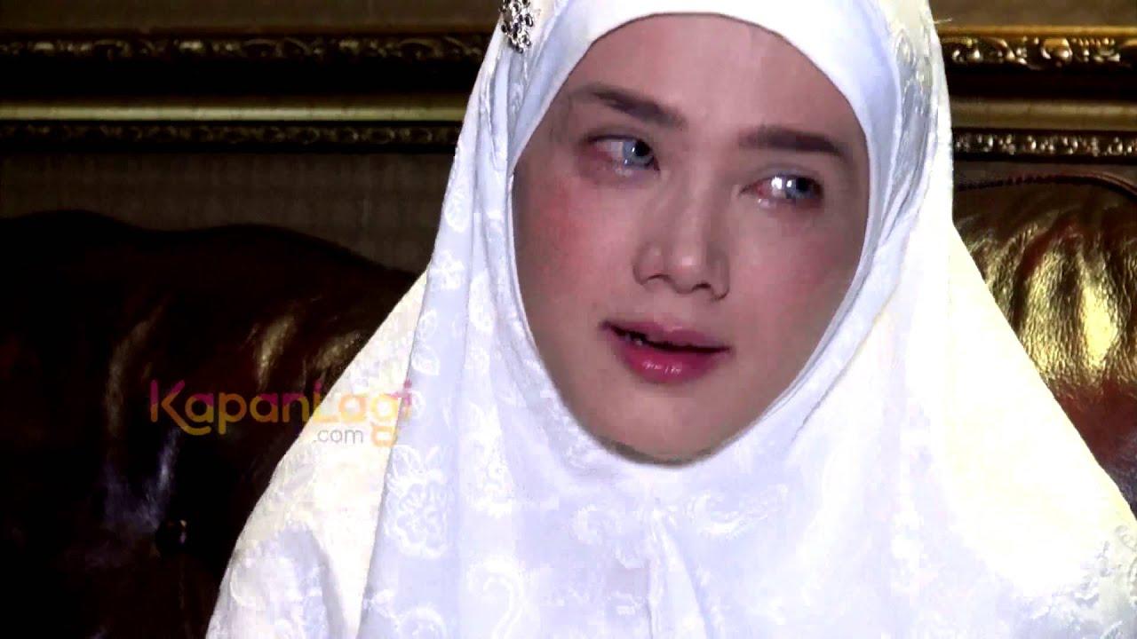 Mulan Jameela: Umroh Tanpa Safeea Ahmad, Mulan Jameela Menangis