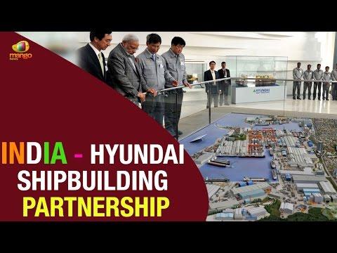 PM Modi seeks partnership with Hyundai Heavy Industries Shipyard in Ulsan, South Korea