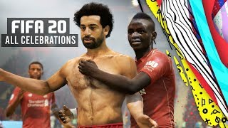 FIFA 20 ALL CELEBRATIONS TUTORIAL | Xbox and Playstation