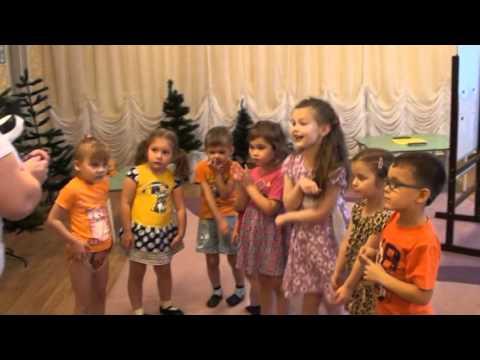 НОД в средней группе с ТНР Загадки тетушки Сороки