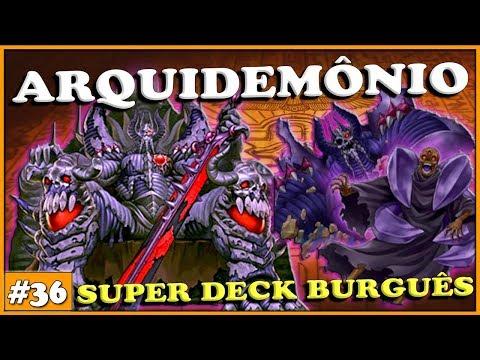 SUPER DECK BURGUES ARCHDEMÔNIO TIER 1 - Yu-Gi-Oh! Duel Links