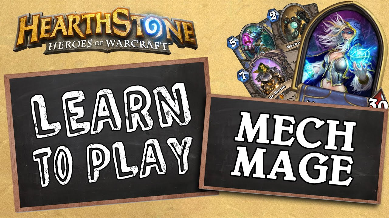 Learn To Play Mech Mage Wild Hearthstone Youtube