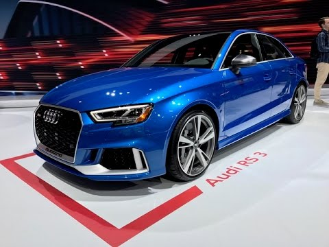 2018 Audi RS3 – Redline: First Look – 2017 NYIAS