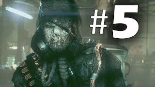 Batman Arkham Knight Part 5 - Scarecrow - Gameplay Walkthrough PS4