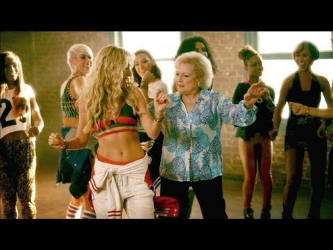 Betty White Gets 'Provocative' in Brit Smith Video