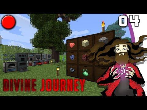 [Minecraft] Divine Journey #04