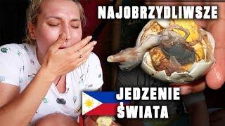 Jem JAJKO Z PISKLAKIEM! 😱 - BALUT, najobrzydliwsza potrawa świata! Agnieszka Grzelak Vlog