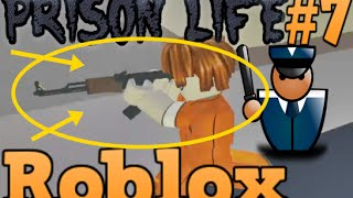 Roblox Türkçe - AK-47 Aldık (Prison Life) The Guard #7