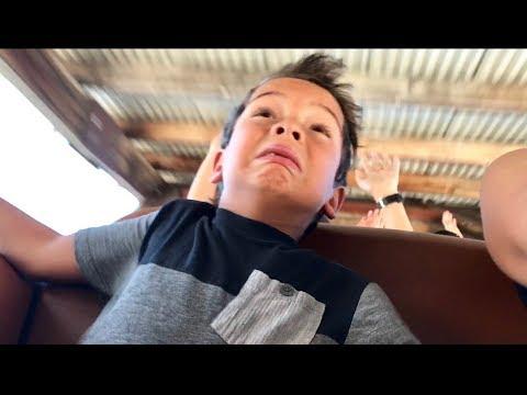 WYATT FREAKS OUT ON ROLLER COASTER 🎢😳| SURPRISE BIRTHDAY TRIP