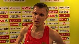 Алексей Попов - 3000м забег, Прага 2015