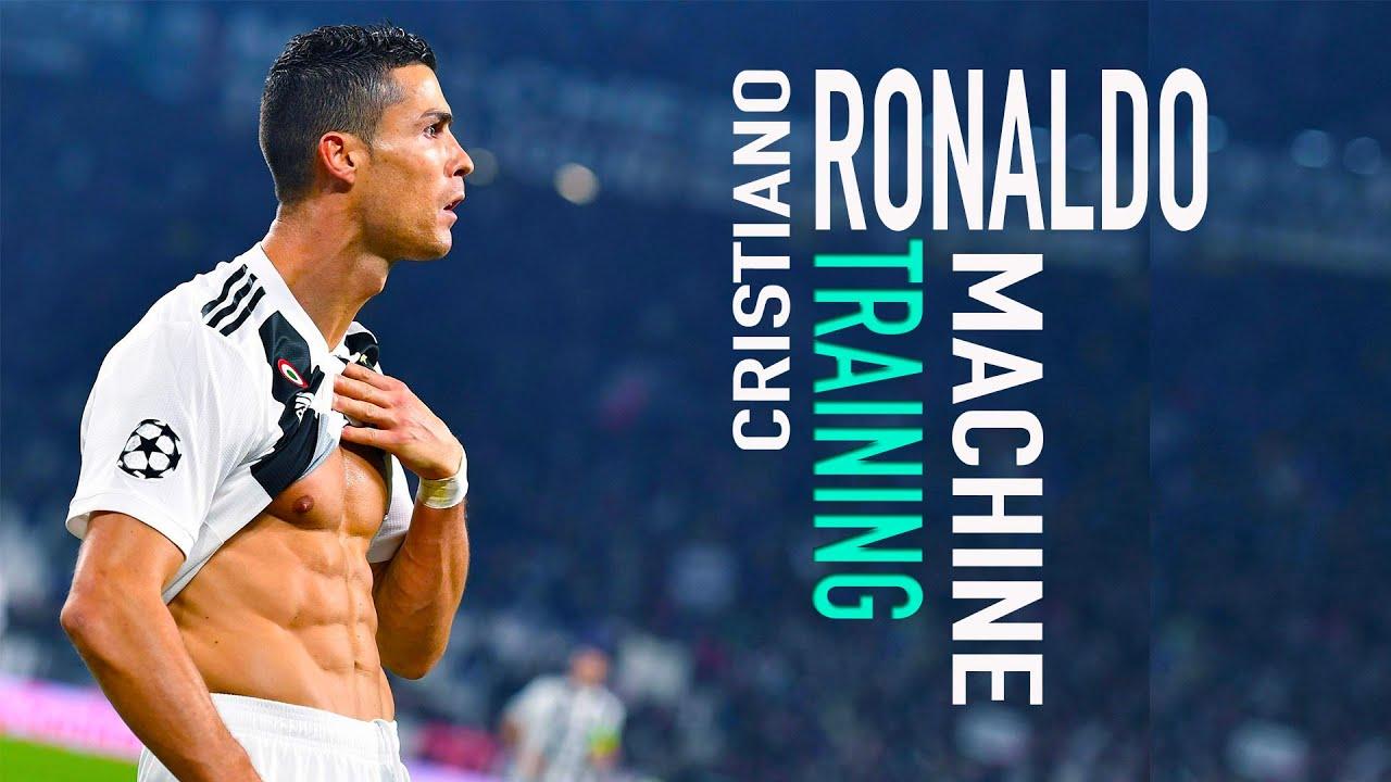Cristiano Ronaldo In Training Youtube