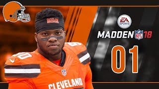 Madden NFL 18 Owner Mode (Cleveland Browns) #01 Welcome to the Dawg Pound