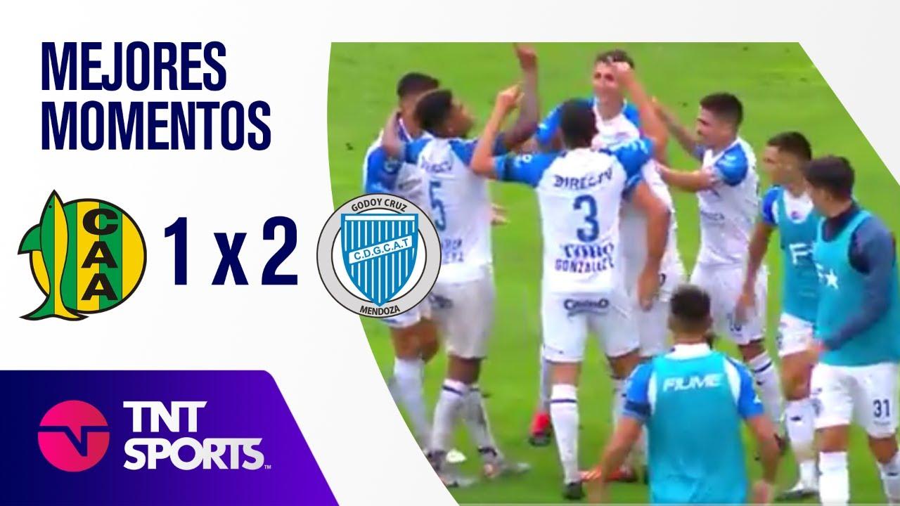 Resumen de Aldosivi vs Godoy Cruz (1-2) | Zona A - F 1 - Copa LFP 2021