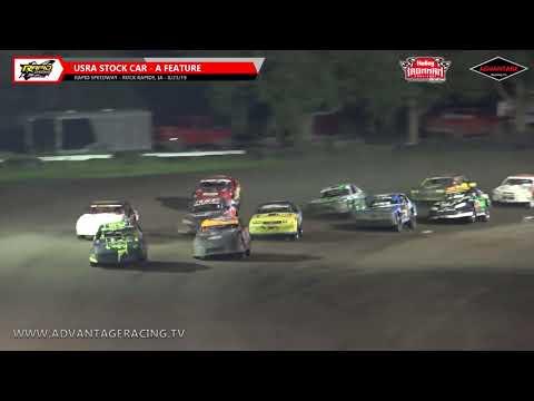 Hobby Stock/Ironman Stock Car Features - Rapid Speedway - 8/23/19