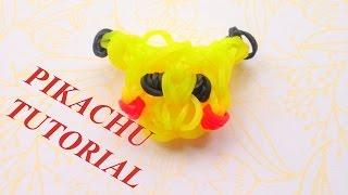 Jak zrobic Pikachu z gumek Rainbow Loom - Tutorial