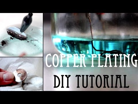 Copper Plating || DIY Tutorial - YouTube