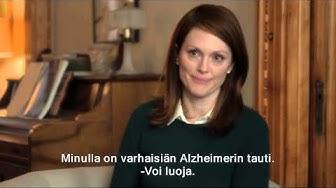 Edelleen Alice (Still Alice)  -elokuvan virallinen traileri [HD]