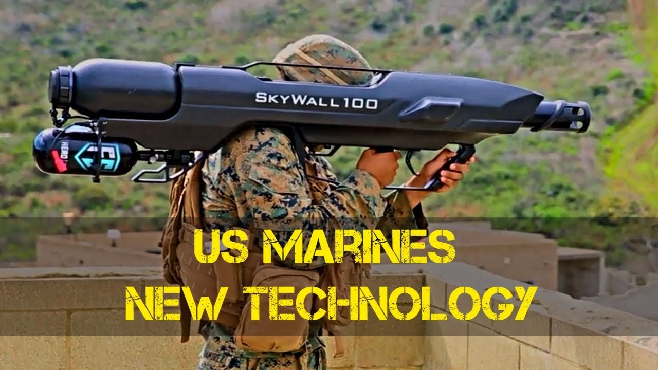 US Marines New Advance Weapons Technology