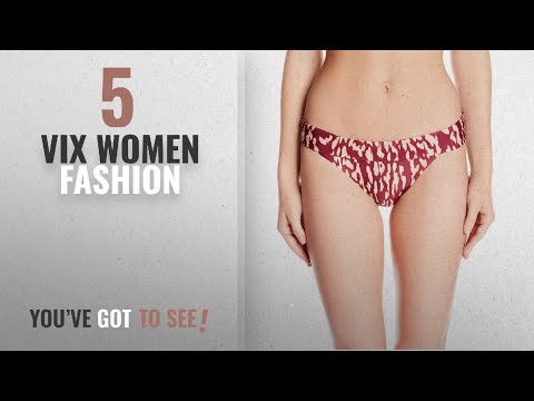 Vix Women Fashion [2018 Best Sellers]: ViX Women's Carmel Full Bikini Bottom, Bali, S