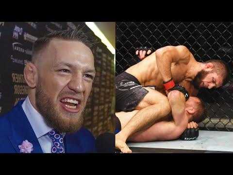 Макгрегор раскритиковал бой