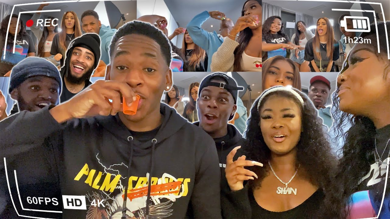 EXTREME Apartment Say It Or Shot It Vlog Ft. Layo's Choice, Shan Sharae & Loren Basil | Jae Edwards
