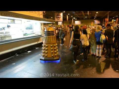 NSD Dalek Vs Darth Vader At The MCM Memorabilia Comic Con NEC, Birmingham. November, 2014