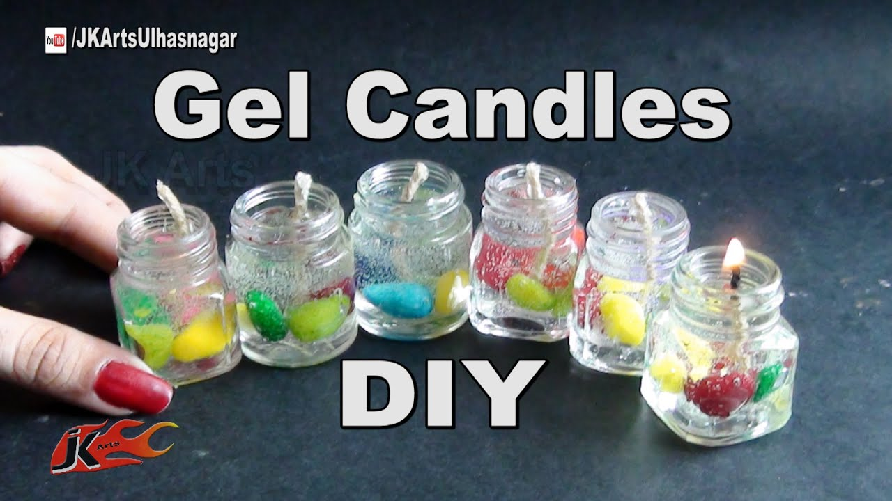 How Make Flower Gel For Candles | Gardening: Flower and