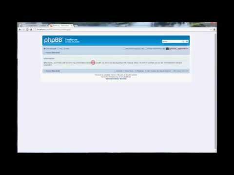 phpBB-Tutorial: Update von 3.1.3 zu 3.1.4