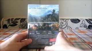 Ведьмак 3: Дикая охота - распаковка расширенного издания (Unboxing)