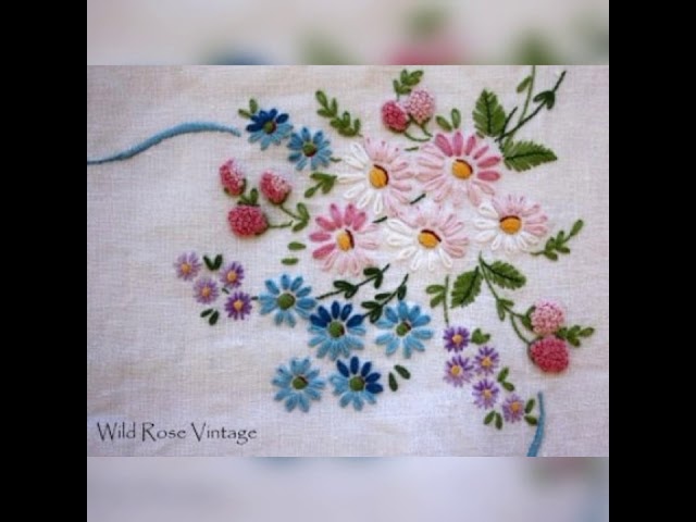 Beautiful hand embroidery designs????????????????