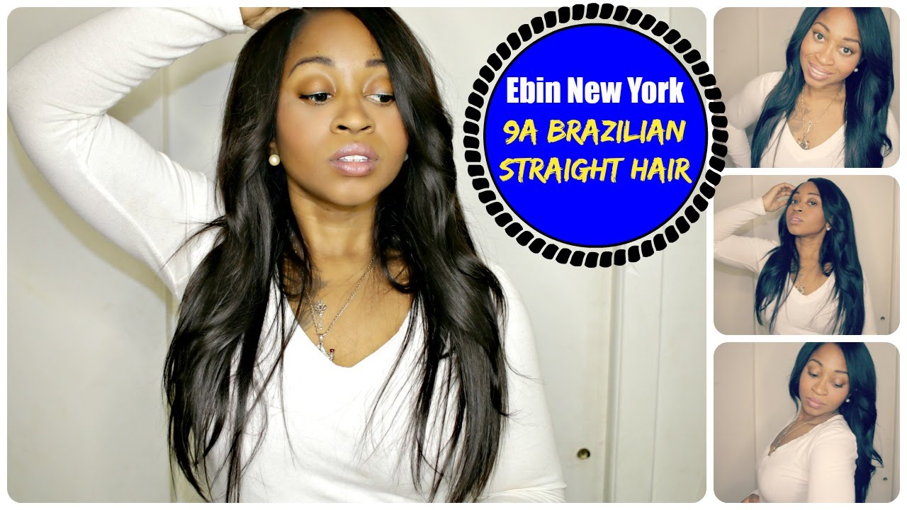 Ebin New York 9a Brazilian Slayed Sleek Straight Hair Best Beauty