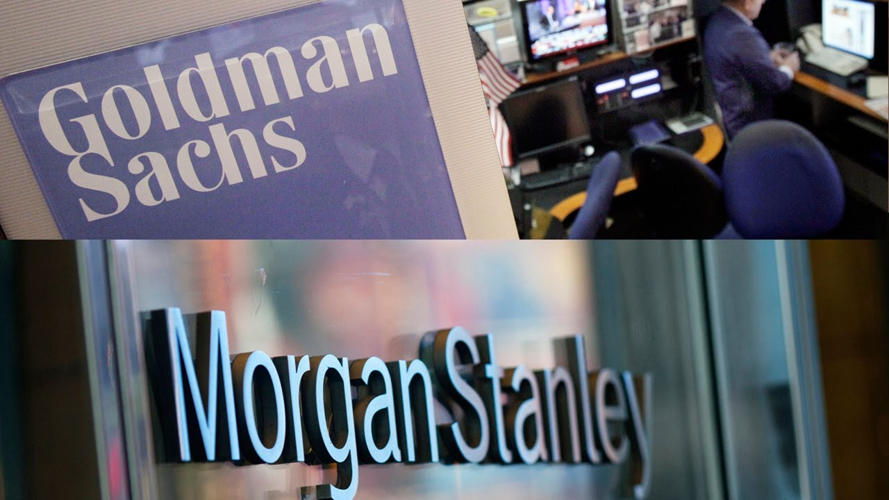 Goldman Sachs and Morgan Stanley's First-Quarter Report Cards