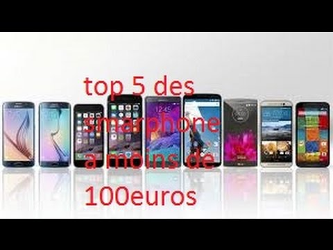 top 5 des smartphone android a moins de 100 euros youtube. Black Bedroom Furniture Sets. Home Design Ideas