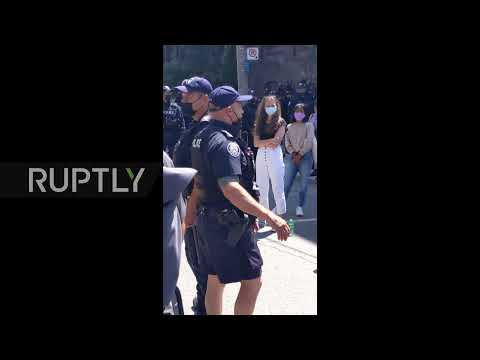 Canada: Toronto protesters slam arrests after police clear out encampment