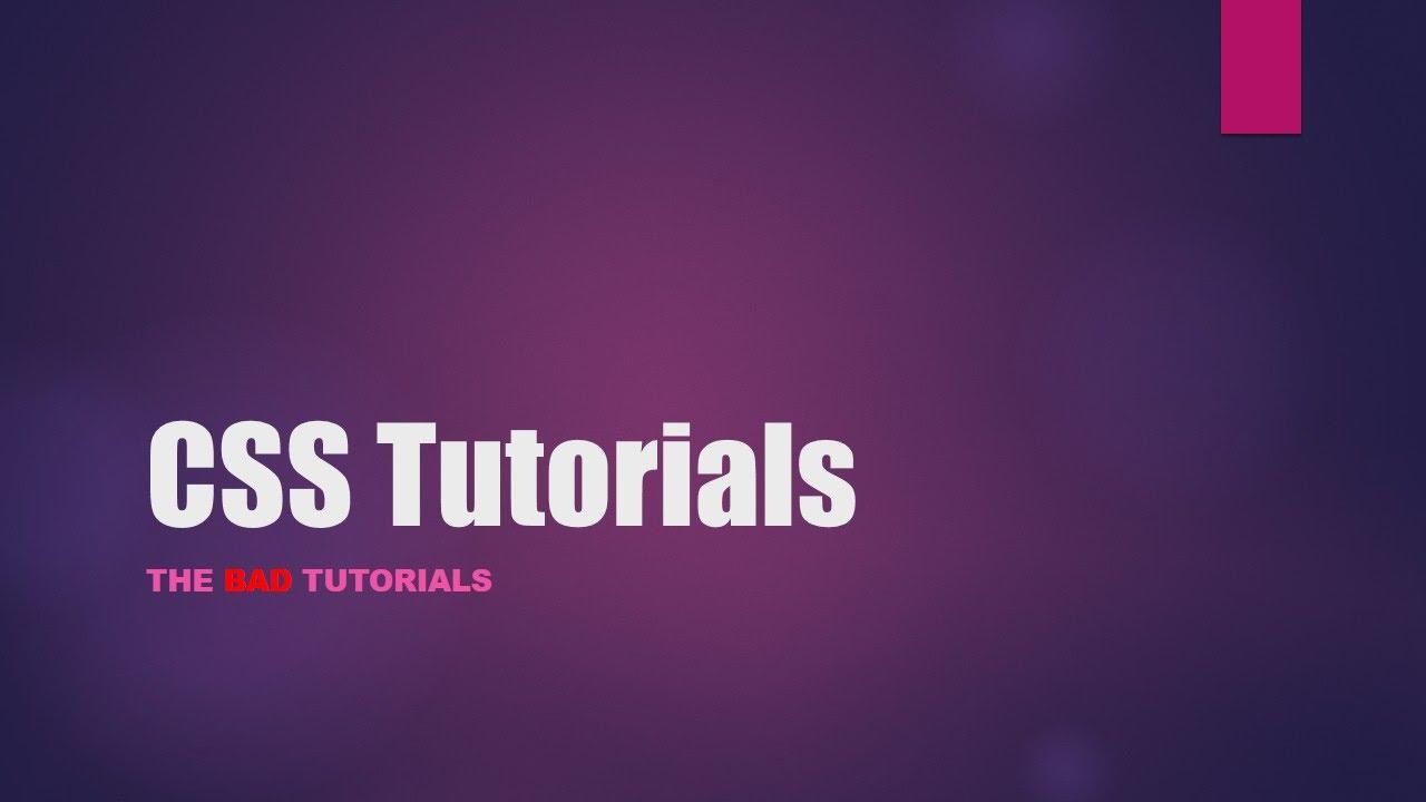 Background image css properties - Css Tutorial 14 Background Properties Part 1