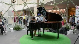 【六本木ヒルズで弾いてみた】ベートーヴェン ピアノ・ソナタ第8番「悲愴」第2楽章 short ver. thumbnail